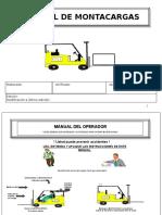 Procedimiento Para Trabajo Seguro en Montacargas (1)