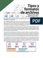 Tipos y Formatos de Archivo