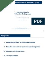 Prog.ejec. Valuac. Empresas 2014