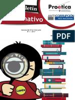 Boletín Informativo - N°1