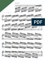 Ejercicios y Escalas de C y Am, F y Dm