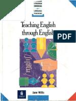 'Teaching English through English' - Willis Jane.pdf