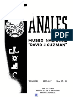 Anales Del Museo David J. Guzman No 37-41 (1)