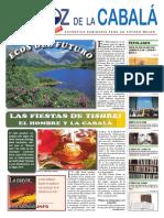 Newspaper La Voz de La Cabala