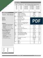 Semikron Datasheet Skkt 57b 07897641