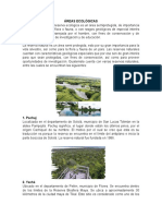 Áreas Ecológicas Con Imagenes