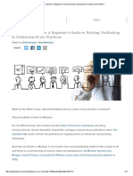 How to Use Medium_ a Beginner's Guide to Writing, Publishing & Promoting on the Platform