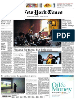 International New York Times 6 June 2017