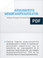 Glomerulonefritis Membranoproliferativa Expo