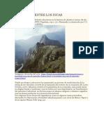 Filosofica Educación Entre Los Incas