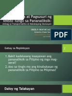 Sicat Delaza Pagbasa Ng Ibat Ibang Teksto Tungo Sa Pananaliksik