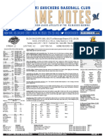 6.6.17 at MIS Game Notes