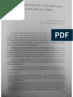 Artículo Sugerido Bonomo, S & Domínguez P, Particularidades de La Entrevista de Recepción en Niños.