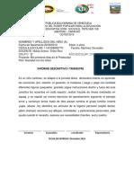 Boletines Primer Lapso 2016-2017