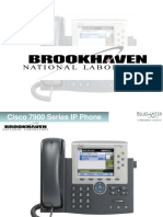 Cisco 7900 Series IP Phone Manual