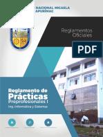 Reglamento de Practicas Pre Profesionales - UNAMBA