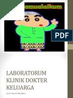 Topik L - Laboratorium Klinik Dokter Keluarga (dr.Sri).pptx