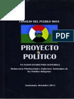 Proyecto Político Un Nuevo Estado