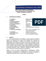 SILABO Ingeniería de Caminos UCP Beca - 2016-II