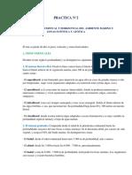 La Zonificación Vertical y Horizontal Del Ambiente Marino y Zonas Eufótica y Afótica