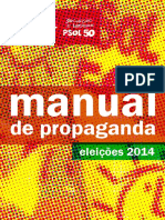 Manual de Propaganda - Psol 2014
