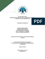 Discurso Oral, Comunicación Interpersonal y problemas que afectan la comunicación oral