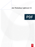 Adobe Lightroom CC. Manual del usuario