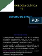 Brote y Brote Nosocomial