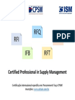 ISM CPSM - Certified Professional in Supply Management.