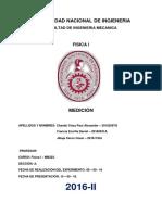 1 Informe de Laboratorio de Fisica1