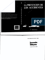 Libro La Prevencion de Los Accidentes