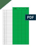 Format Pelaporan Dan Pencatatan Ptm 2017 ( 5 Sheet )