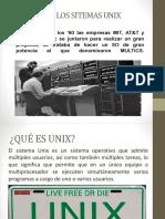 Historia de Los Sitemas Unix