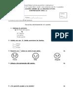 Evaluación 2º Mayo 2017