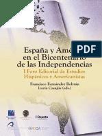 FRANCISCO FERNANDEZ & LUCÍA CASAJÚS (Editores) - España y América en El Bicentenario de Las Independencias
