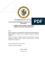 Sistema Web Para El Control de Facturación e Inventario de Medicamentos y Bienes en El Hospital Regional Docente Ambato