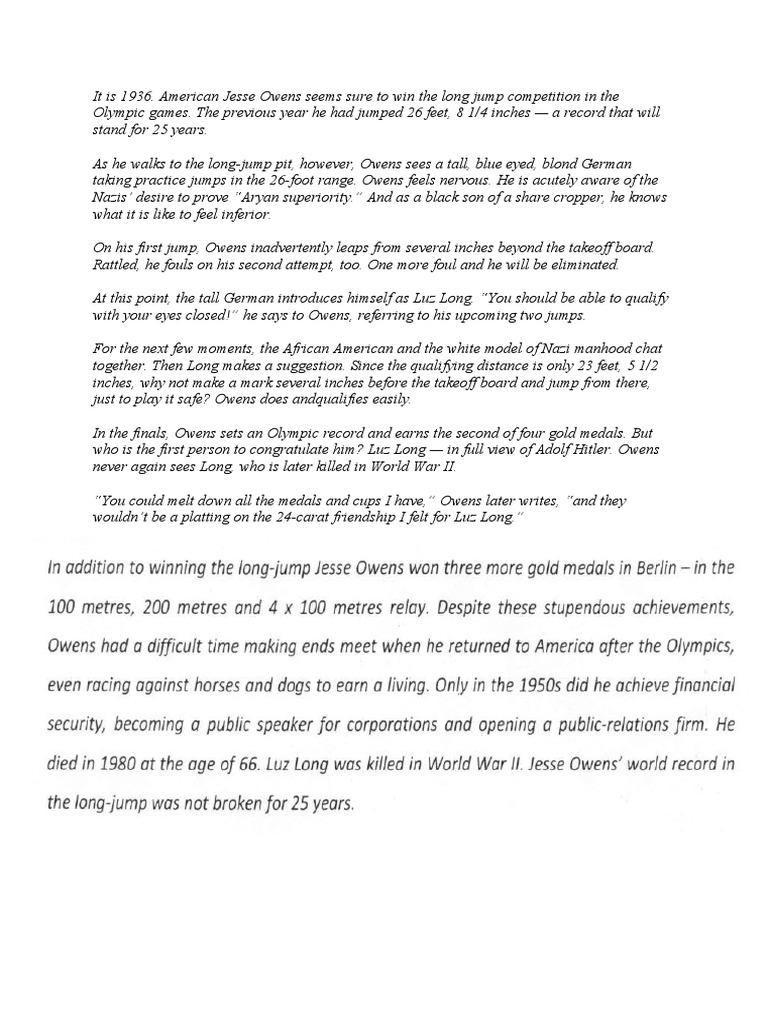 prize essay