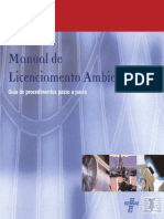 Manual de Licenciamnto Ambiental Sebrae