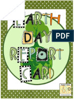 1076 Earth Day Report Card