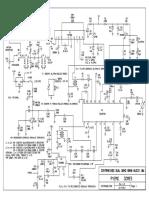 Receptor de HF Contrariado Dual Band Áudio 10w