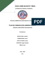 Plan de Comunicación Librería El Búho M.