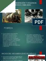 Pobreza, Migración y Violencia en México (