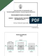 UNIDAD1 Digitalizacion y Reconstruccion de señales