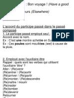 Unite 8 Leçon 29 Grammaire - L'Accord Du Participe Passé Dans Le Passé Composé