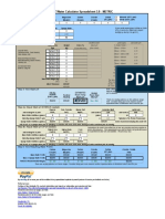 EZ Water Calculator 3.0.2 Metric