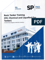 Basic Tanker Training (Oil, Chemical and Liquefied Gas Tanker)