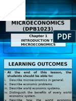 Chapter 1 (Full) Introduction To MicroEconomics