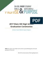 Klein ISD - 2017 Graduation Metrics