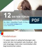 12 Sistem Tubuh Manusia (B1 B2)