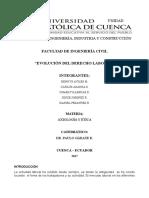 Evolucion del Derecho Laboral.docx